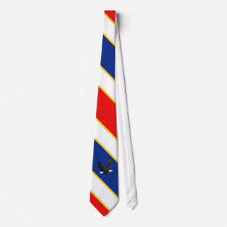 Patriotic American Bald Eagle Tie