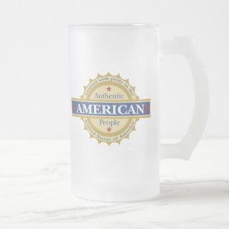 Patriotic American Beer mug