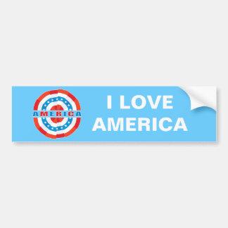 Patriotic American Car Bumper Sticker