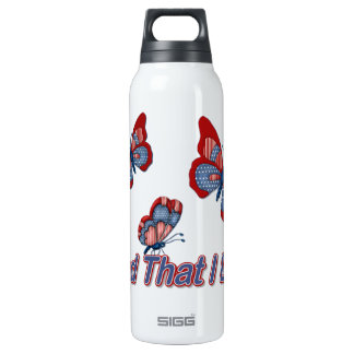 Patriotic American Butterflies SIGG Thermo 0.5L Insulated Bottle
