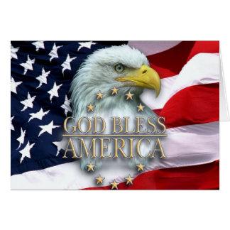 PATRIOTIC AMERICAN CHRISTIAN GREETING CARD
