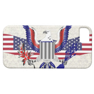Patriotic American eagle Case For The iPhone 5