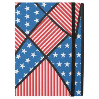 Patriotic American fireworks