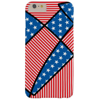 Patriotic American fireworks Barely There iPhone 6 Plus Case