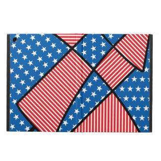 Patriotic American fireworks iPad Air Cases