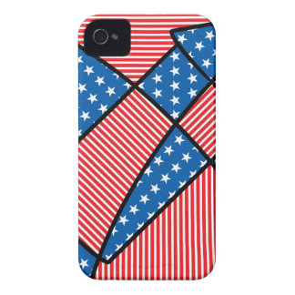 Patriotic American fireworks iPhone 4 Case-Mate Case