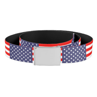 Patriotic American flag canvas belt | USA pride