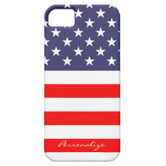 Patriotic American Flag Iphone 5 case Personalize