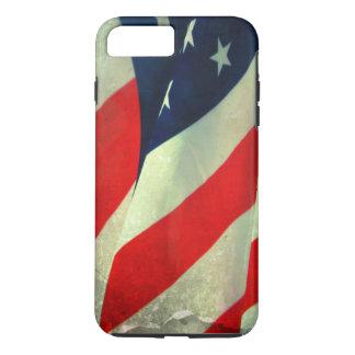 Patriotic American Flag iPhone 7 Tough Case