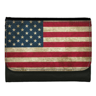 Patriotic American Flag on Your Wallet