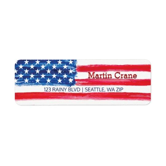 Patriotic American Flag Stars & Stripes USA
