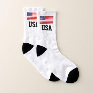 Patriotic American flag USA pride custom sport Socks