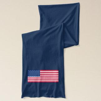 Patriotic American Flag USA Scarf
