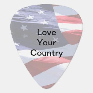 Patriotic American Guitar Picks