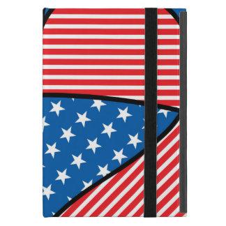 Patriotic American hearts iPad Mini Cases