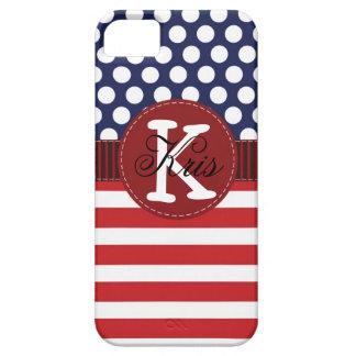 Patriotic American iPhone Case Personalized