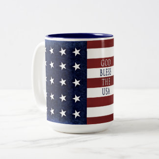 Patriotic American Mug - USA FLAG