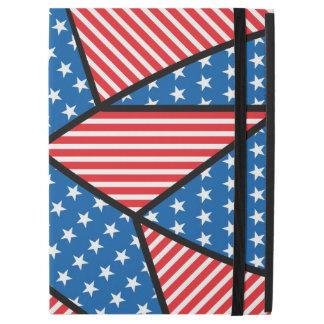 Patriotic American star