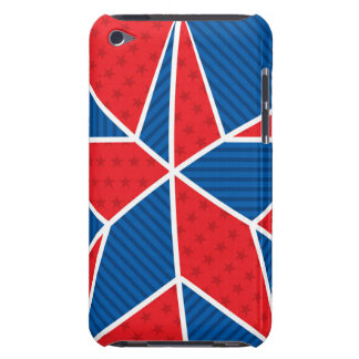 Patriotic American star Barely There iPod Cover