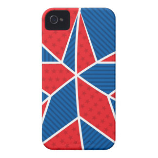 Patriotic American star iPhone 4 Case-Mate Cases