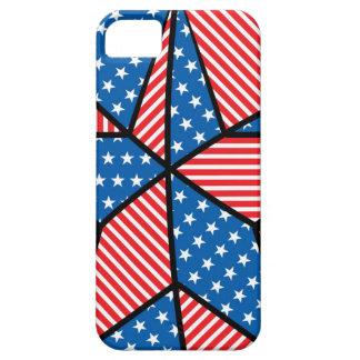 Patriotic American star iPhone 5 Cover