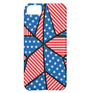 Patriotic American star iPhone 5C Case