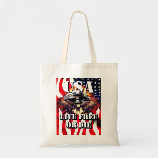 Patriotic American Tote Bag
