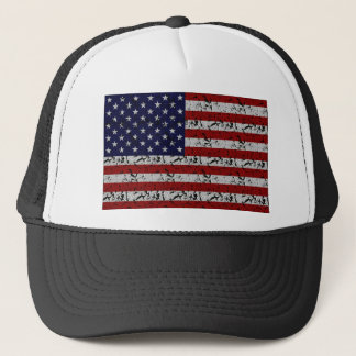 Patriotic American U.S.A. Flag of United States Trucker Hat