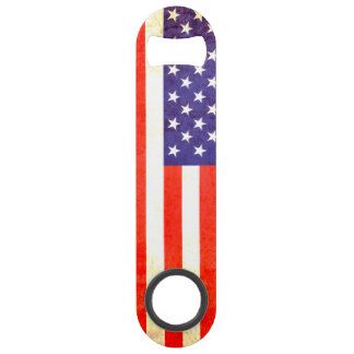Patriotic American US flag bottle opener Speed Bottle Opener