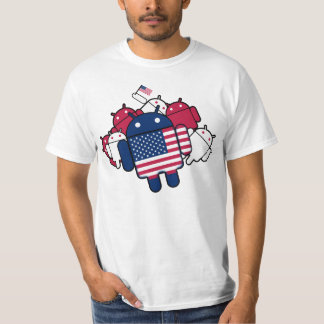 Patriotic Android T-Shirt