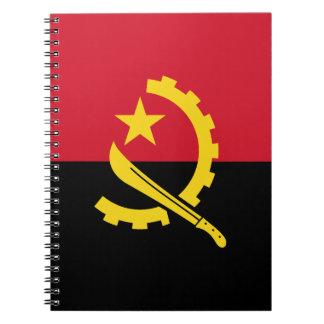 Patriotic Angolan Flag Notebook