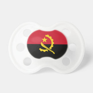 Patriotic Angolan Flag Pacifier