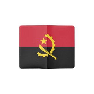 Patriotic Angolan Flag Pocket Moleskine Notebook