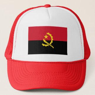 Patriotic Angolan Flag Trucker Hat