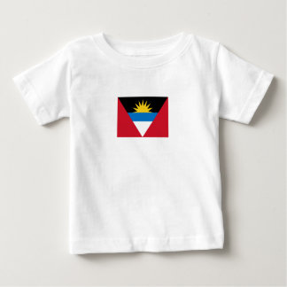 Patriotic Antigua and Barbuda Flag Baby T-Shirt