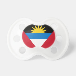 Patriotic Antigua and Barbuda Flag Pacifier