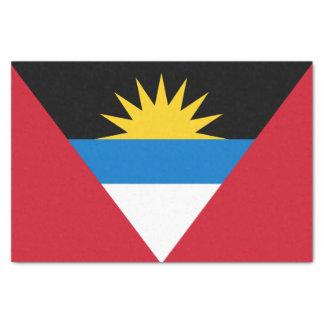Patriotic Antigua and Barbuda Flag Tissue Paper
