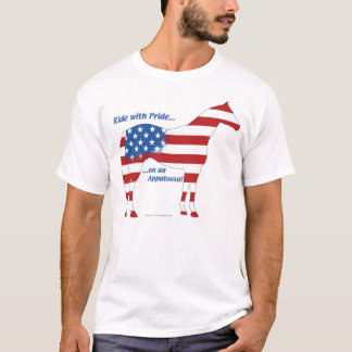 Patriotic Appaloosa Horse T-Shirt