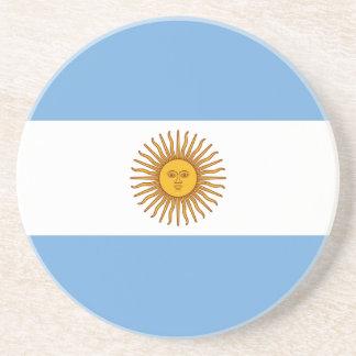 Patriotic Argentinian Flag Coaster