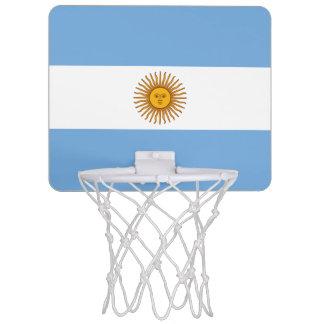 Patriotic Argentinian Flag Mini Basketball Hoop