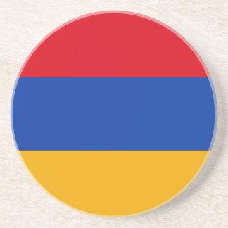 Patriotic Armenia Flag Coaster