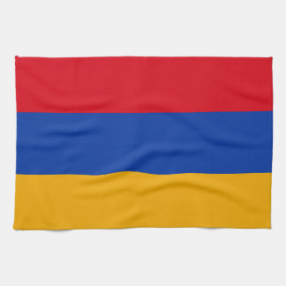 Patriotic Armenia Flag Kitchen Towel