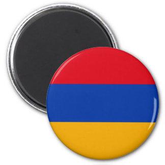 Patriotic Armenia Flag Magnet