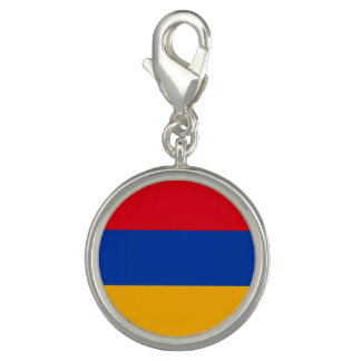 Patriotic Armenia Flag Photo Charm