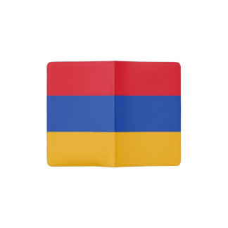 Patriotic Armenia Flag Pocket Moleskine Notebook