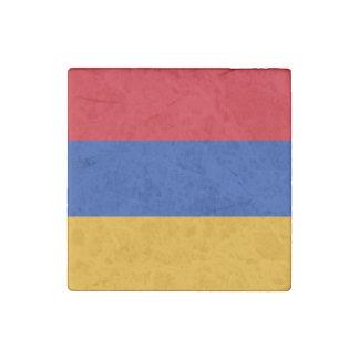 Patriotic Armenia Flag Stone Magnets