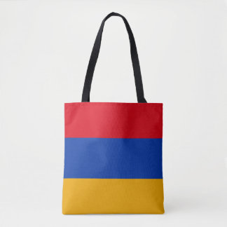Patriotic Armenia Flag Tote Bag