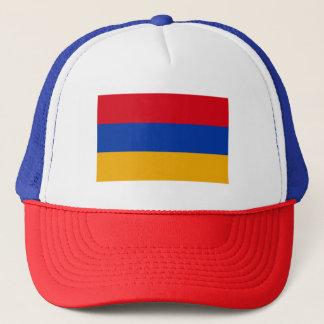 Patriotic Armenia Flag Trucker Hat