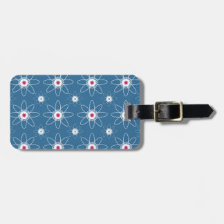 Patriotic Atom Luggage Tag