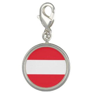 Patriotic Austrian Flag Charms